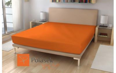 Prostěradlo froté č.15 oranžová