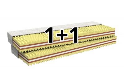 matrace 1+1 HORTENZIE