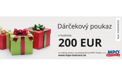 Darčekový poukaz elektronický 200Eur
