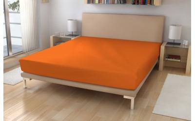 Metráž froté č.15 oranžová