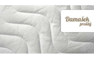 poťah na matrace Damašek prešitý