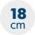 výška matraca 18 cm